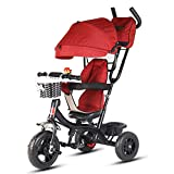 Best Pet 3 Wheel Strollers - AGGK Baby stroller High landscape Two-way Sitting Ba Review