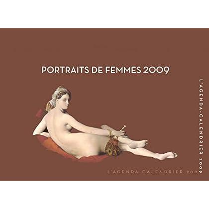 Agenda/calendrier Portraits de femmes 2009