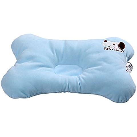 Cotone traspirante bambino appena nato di protezione Pillow bella rettangolo bambola molle poggiatesta