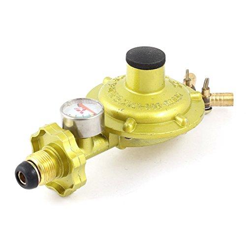1/2PT Außengewinde LGP komprimierte Gas Gauge Regulator Ventil gelb -