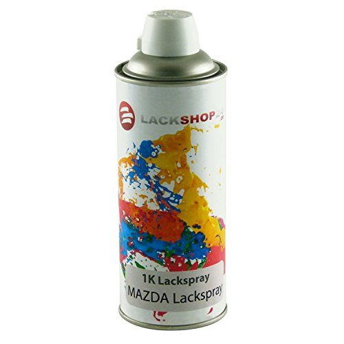 Preisvergleich Produktbild 1K-Sprühlack für alle Mazda-Modelle | Schnelle Anwendung & professionelles Ergebnis | Autolack Spray-Dose in individueller Farbe | 400ml Wunsch-Lack | Lackspray für Lack-Schäden & Auto-Tuning