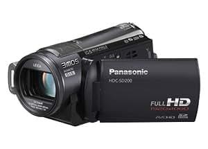 Panasonic HDC-SD200 High Definition Flash Memory Camcorder With SD Card Slot & 3MOS Sensor - Black