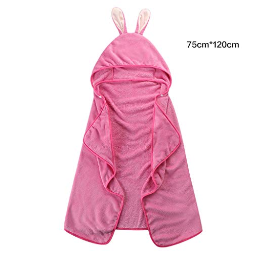 UCYG Animal con Capucha Washcloth de la Toalla Ultra Suave y Extra Grande, 100% algodón Albornoz Infantil...