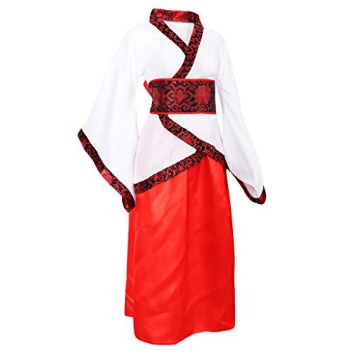 Hellery Verbesserte Frauen Hanfu Traditionelle Chinesische Kleidung Tang Kleid Cosplay Kostüm - - Traditionelle Chinesische Frau Kostüm