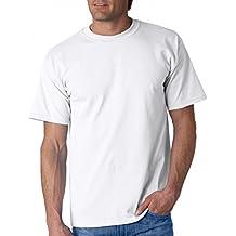 Gildan - Camiseta básica de Manga Corta Modelo Ultra Cotton para Hombre Caballero