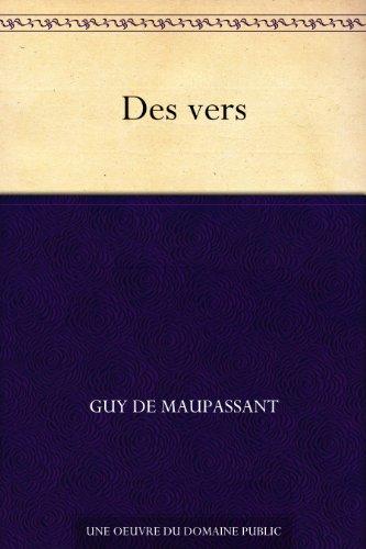 Couverture du livre Des vers