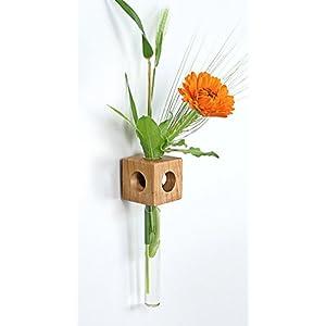 Fenstervase Kirsche Blumenvase test tube vase