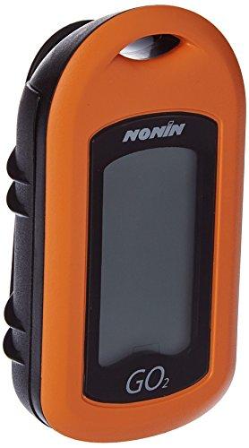 Nonin-Pulsoximeter, mit LCD-Hintergrundbeleuchtung-Orange - -