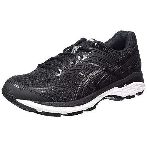 Asics GT-2000 5, Chaussures de Running Femme, Noir (Black/Noir Onyx/White), 40.5 EU