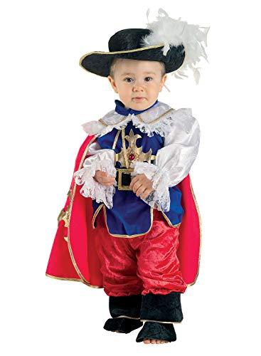 chiber Disfraces Musketiere Kostüm für Baby (19-24 - Mousquetaire Kostüm