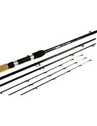 Dinsmores Canne à pêche robuste pour pêche au feeder