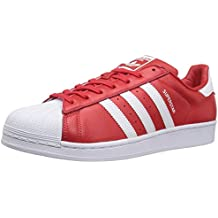 superstar adidas rouge homme