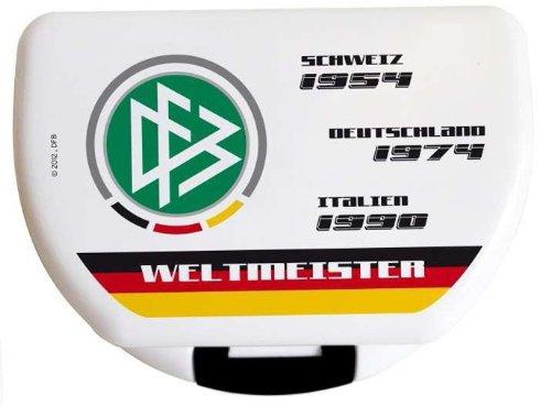 DFB Weltmeister Brotdose weiß mit Aufdruck (weiß mit Aufdruck 2)