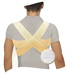 DELUXE GERADEHALTER Unterer Rückseite Rückenhalter, Orthopädischer Stabilisator, Rücken Haltungsbandage Rückenstütze Haltungskorrektur (M)