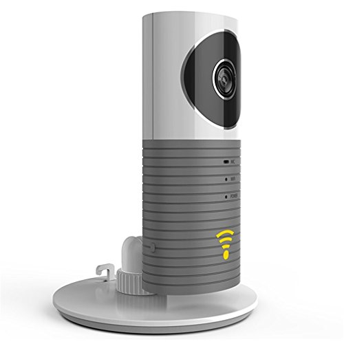 AHECE Wifi Überwachungskamera Wlan Kamera Sicherheitskamera Netzwerk Kamera Kabellos Videoüberwachung mit Nachtsicht / Bewegungsmelder / Gegensprechfunktion für Haus/Baby/Kinder Überwachung für iPhone, Android und Tablets