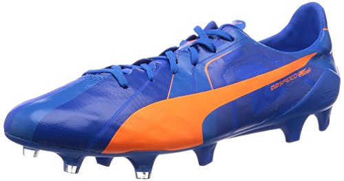 PUMA evoSPEED SL FG TRICKS scarpe da calcio orange-blue