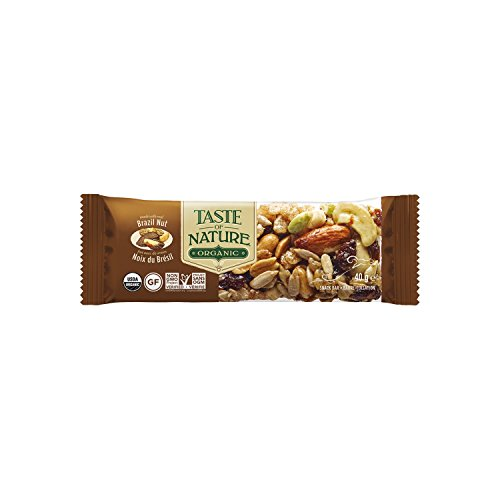Taste of Nature Müsliriegel Brazilian Nut Fiesta, 4er Pack (4 x 40 g) - Bio