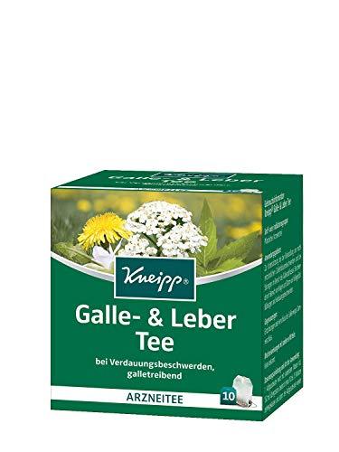 Kneipp Galle-& Leber Tee, 10 Beutel, 5er Pack (5 x 19 g) -