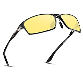 c2d3574d7b1 ... Soxick Night Driving Glasses Anti Glare Polarized Safe Night Vision  Sunglasses