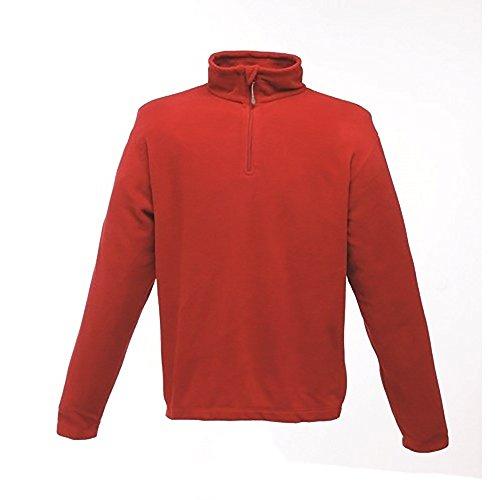 Regatta Herren 170 Series Fleece-Oberteil mit Reißverschluss bis zur Brust, Anti-Pilling Classic Red