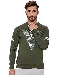 Proline Mens Dark Green Sweat Shirt(PA13554DG)