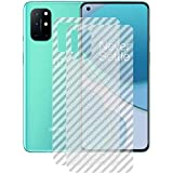 Ctel OnePlus 8T Back Screen Protector (2 Packs) by Ctel, 3D Back Skin Carbon Fiber Ultra-Thin Protective Film Transparent Back Cover for OnePlus 8T