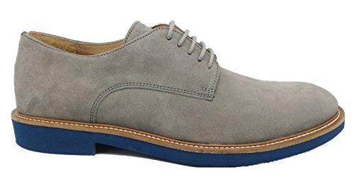 FRAU - Zapatillas de ante para hombre gris gris gris Size: 43 xcpgGskX