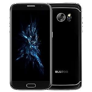 Bluboo Edge Smartphone 4G FDD-LTE Phone 5.5inch HD AUO OGS Screen 1280*720P MTK6737 Quad-core 1.3GHz Processor 2GB RAM 16GB ROM Android 6.0 OS 13.0MP+8.0MP Camera Fingerprint Identification (Black)