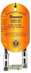 Ibanez DSC08LL Câble patch en PVC 25 cm Noir