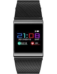SODIAL X9 Pro Pulsera Inteligente Negro Reloj OLED Pulsera rastreador de Deportes Monitor de frecuencia Cardiaca