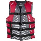 Universal Life Vest Stearns Classic Jacket - Nylon shell, PE foam, three 2.54cm webbed straps for added comfort.