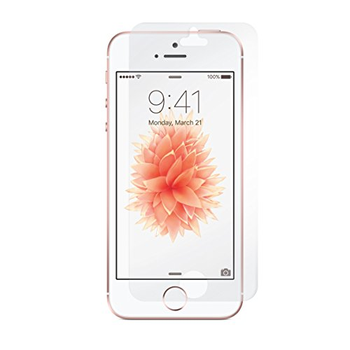 Incipio NGP Schutzhülle für Apple iPhone SE / 5S / 5 in schwarz/transparent [Stoßfest | Reißfest   Flexibel] - IPH-1439-TBK transparent