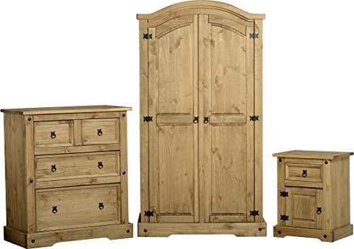Corona Trio Bedroom Furniture Set