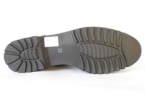 Nero 37 EU Angkorly Scarpe Moda Sandali Espadrillas Cinturino con h0f