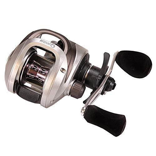 Quantum Fishing Throttle 100 Right H&Baitcast Rolle -