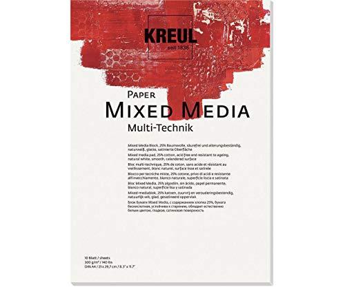 Papier Für Verschiedene Techniken KREUL 300g / M2, Din A4, Karte, Hintergrund, Scrapbooking-Hintergrund-Papier, Art, Ck 69021 -