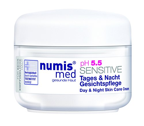numis med ph 5.5 SENSITIVE Gesichtscreme Tag & Nacht 50ml - Sensitive Tagescreme