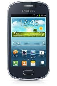 Samsung Galaxy Fame Smartphone, Display TFT 3.5 Pollici, 1GHz, 512MB RAM, Fotocamera 5 Megapixel, 4GB di Memoria Interna, USB 2.0, Android 4.1, Blu Metallizzato [Germania]