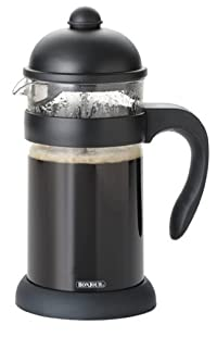 BonJour Hugo 3-Cup French Press, Black