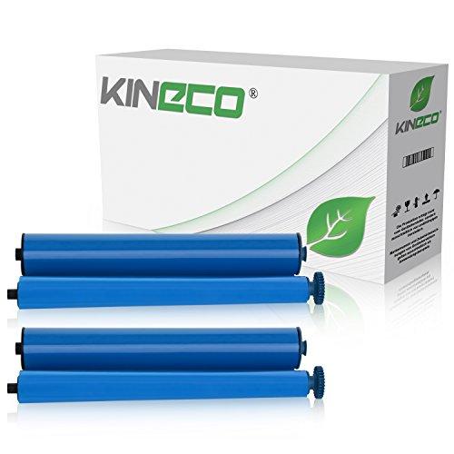 Preisvergleich Produktbild Kineco 2 Thermorollen kompatibel zu Phillips PFA351 PFA352 für Phillips Magic 5 - je 140 Seiten