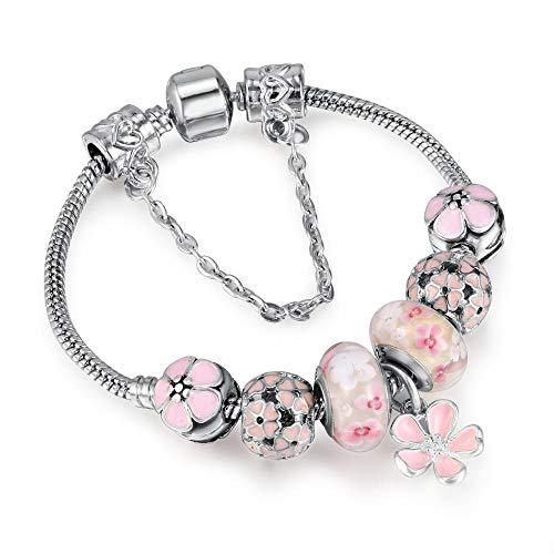 ChuangYing Glas Kristall Legierung Perlen Perlen Armband