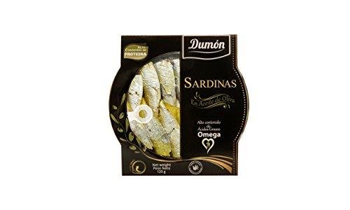 Scatola di 10 unità, Sardine in Olio d'oliva, Formato Trasparente, 120 g