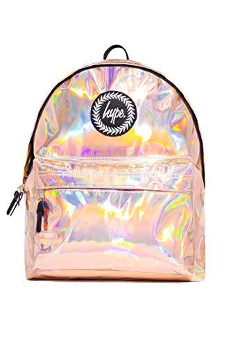 Zaino hype borse - nuovo primavera estate e per la scuola 2019 zaini - borsa per la scuola - tanti nuovi colori & design - scegli il tuo preferito - holographic rose gold, one size