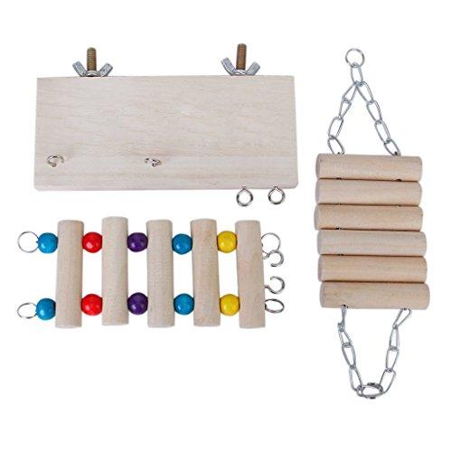 TOOGOO(R) Set de 3 pieces concucteur Hamster Souris Balancer Set de Jouets