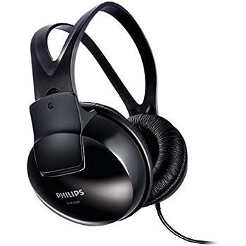 Philips SHP1900/97 Over-Ear Stereo Headphones (Black)