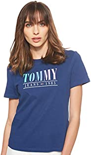Tommy Jeans Women's Tjw Summer Multicolor Tommy T-S