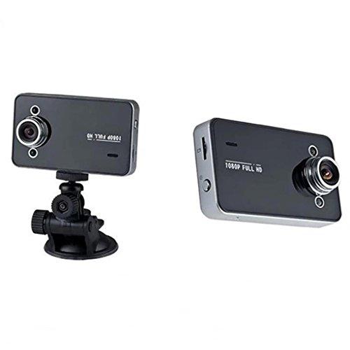WJJ- Kamera 2,5-Zoll-Auto-Reise-Recorder mit Breitbild-Auflösung 1920x1080 Pixel Full HD, 120 Grad Betrachtungswinkel, 4x Zoomobjektiv, G-Sensor, Infrarot-Nachtsicht (schwarz) 120-grad-auto