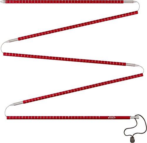 McKINLEY Lawinensonde Schneesonde, Rot/Grau, One Size