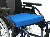 OrtoPrime Cuscino antidecubito viscoelastico posturale   Seduta Ortopedica con Memory Foam   terapeutico allevia Pressione del coccige   Indicato per Sedia a rotelle, Ufficio, Auto e casa