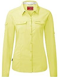 ... Blusen   Tuniken   Gelb. Craghoppers NosiLife Adventure CR166  Langarmhemd für Damen, 8aab5de939